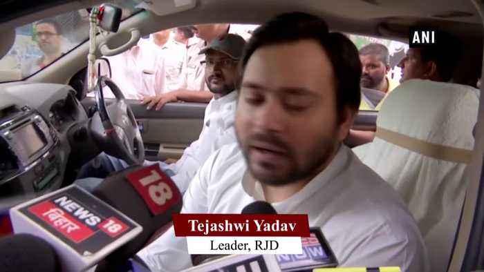 INX Media Scam Tejashwi Yadav accuses CBI ED of working like BJP cell