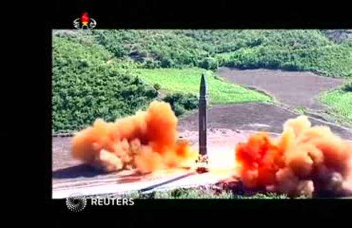 Trump says U.S. has really good relationship with North Korea