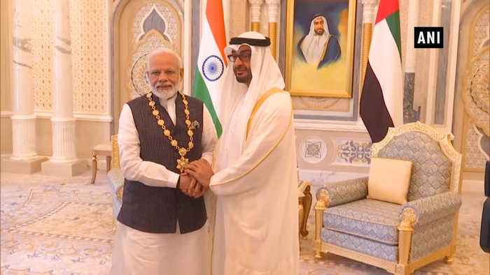 PM Modi conferred with UAE's highest civilian award by Crown Prince