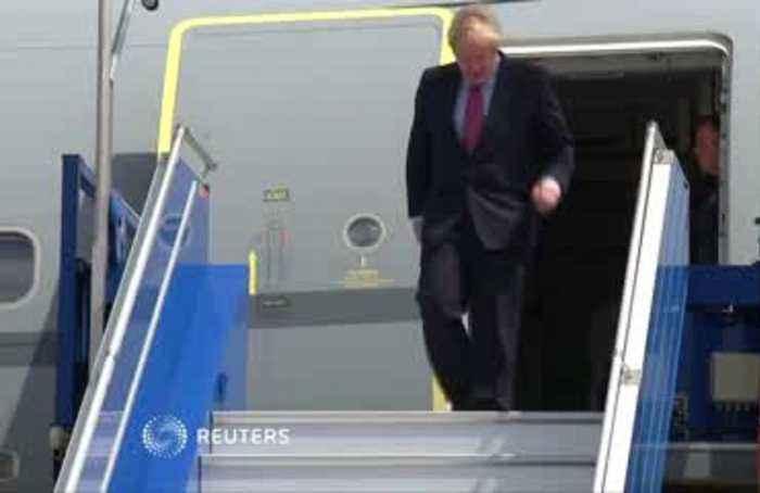 At G7 summit, Britain's Johnson warns U.S. against escalating trade war with China