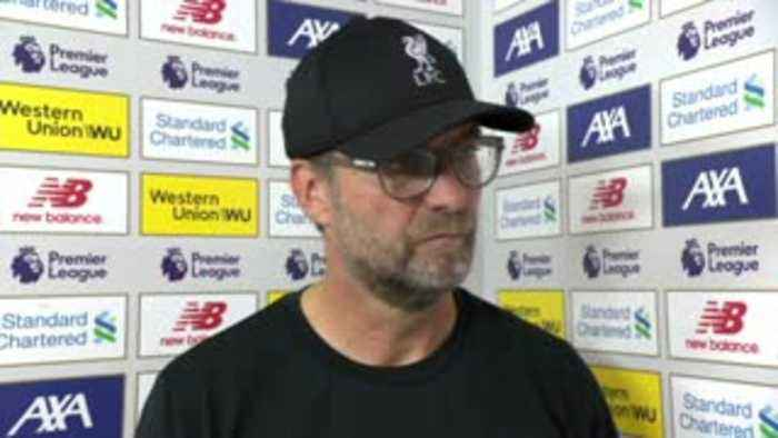 Klopp: Our performance was outstanding