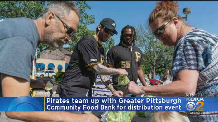 Pirates Team Up With Food Bank