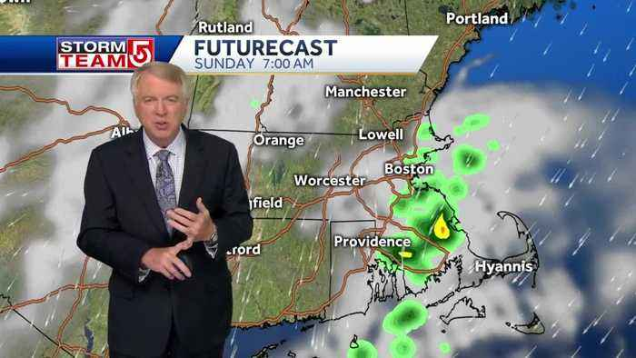Video: Spotty clouds, rain to follow gorgeous Saturday weather