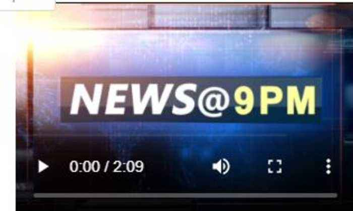 NEWS AT 9 PM, AUGUST 25th