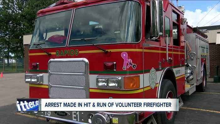 Arrest made in hit-and-run crash that seriously injured volunteer firefighter