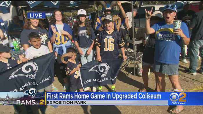 Rams Fans Ready To Rock New-Look Coliseum