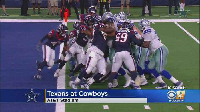 Texans' Watson Out Quickly, Cowboys Roll 34-0 In Preseason