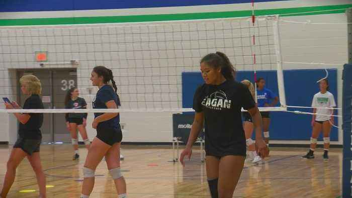 Eagan Volleyball Team Talks Work Ethic, Competitiveness