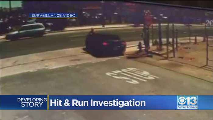 Downtown Sacramento Hit-And-Run Investigation
