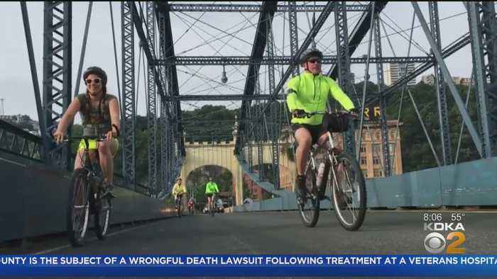 Pedal Pittsburgh Kicks Off In South Side