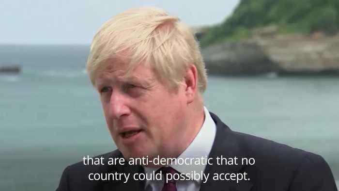Boris Johnson: Brexit deal 'depends on our friends'