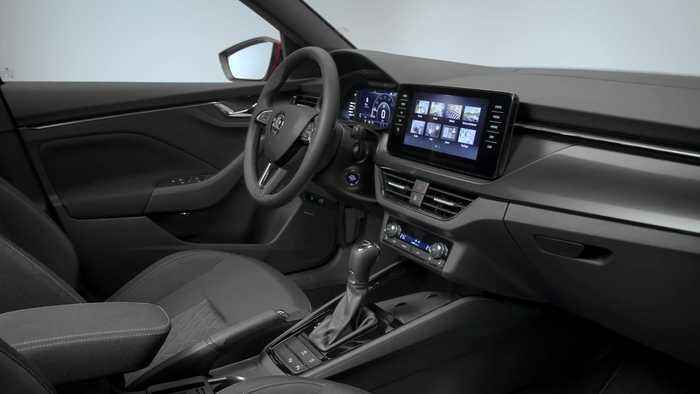 The new Skoda Kamiq city SUV Interior Design