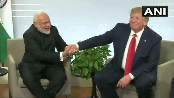 PM Modi meets Trump, says 'all issues between India-Pakistan are bilateral'