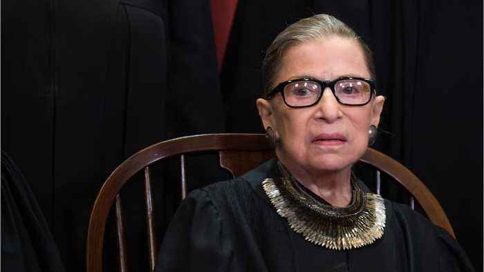Justice Ginsburg: First Appearance Since Latest Cancer Scare