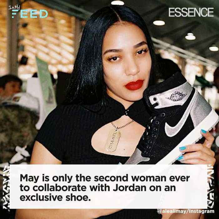 Influencer and Shoe Designer Aleali May is ESSENCE's September 'It Girl'