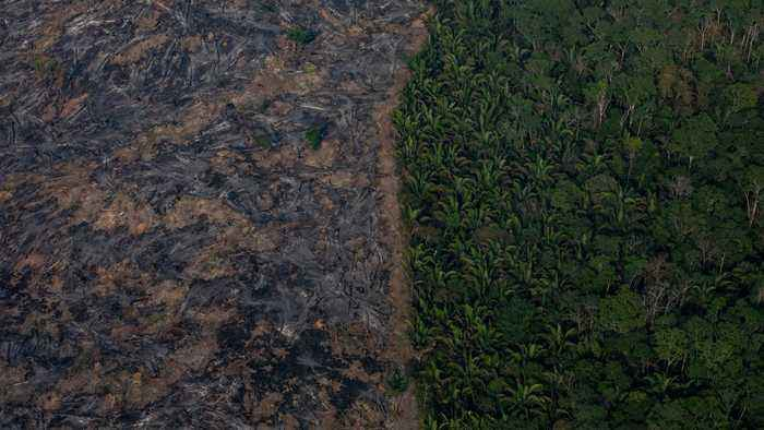 Brazil Says It's Now Open To Accepting International Aid For Fires