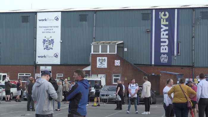 Bury expelled from the English Football League