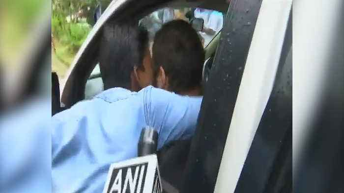 Watch: Rahul Gandhi kissed by a man during Wayanad visit