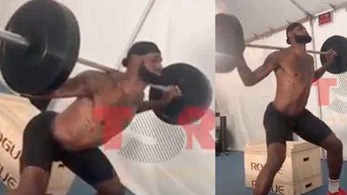 Lebron James Gets ATTACKED By Twitter Trolls Who Claim His Squat Form Is TRASH