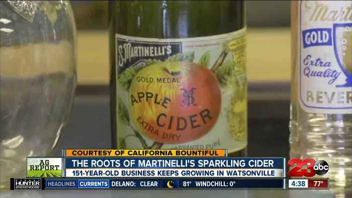 The roots of Martinelli's sparkling cider success