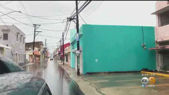 Dorian Strengthens Into Hurricane As Puerto Rico Avoids Direct Hit — Live Updates