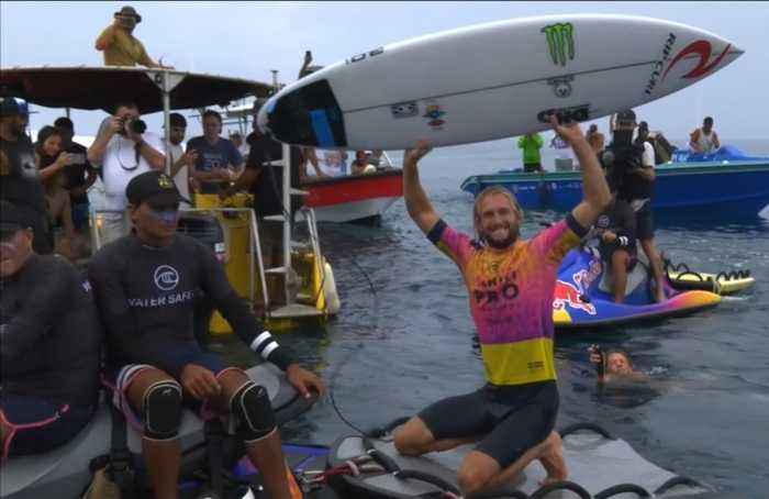 'That was special' - Australia's Wright wins Tahiti Pro surf