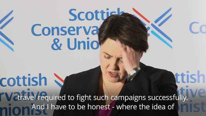 Ruth Davidson: Professional and personal changes prompt resignation with a 'heavy heart'