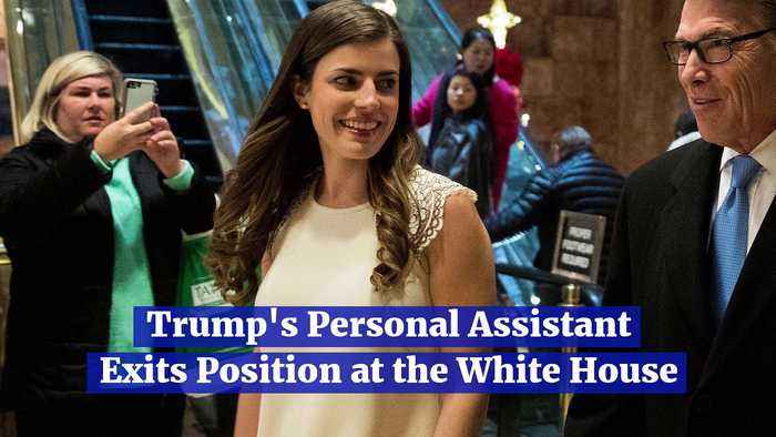 Trump's Personal Assistant Exits Position at the White House