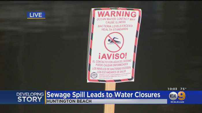 Thousands Of Gallons Of Sewage Spills Into Huntington Harbour
