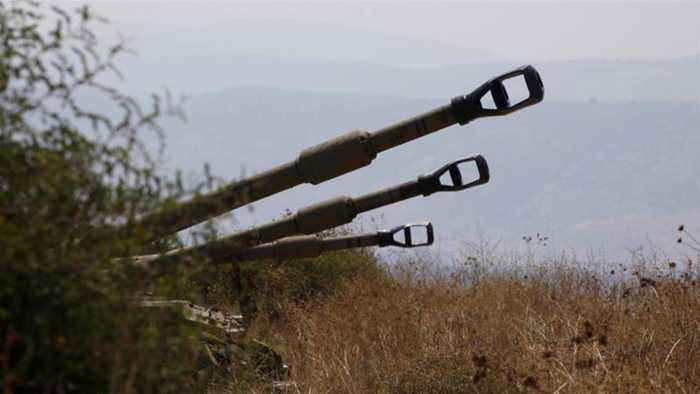 Israeli army fires into Lebanon after Hezbollah missile attack