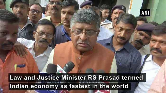 India's economy is 'fundamentally' strong RS Prasad