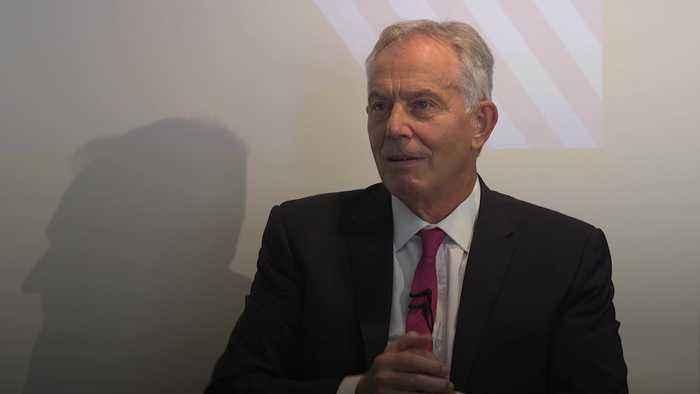 Tony Blair compares UK-US relationship to Premier League football