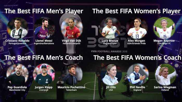 Best FIFA Football Awards: Who made the shortlist?