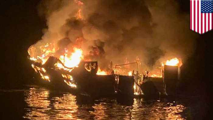 At least eight dead, dozens missing in California boat fire