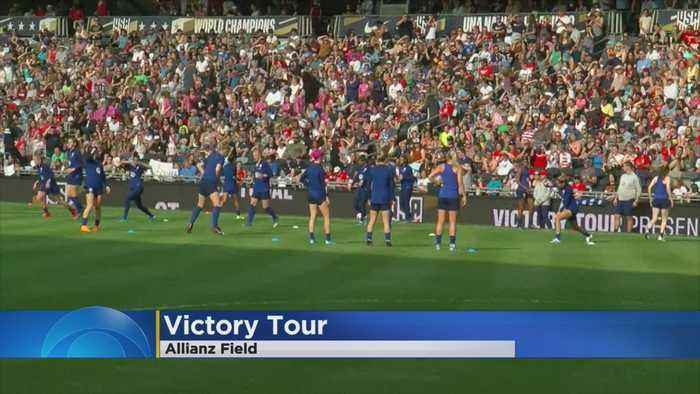 Team USA Prepares For St. Paul Victory Tour Stop