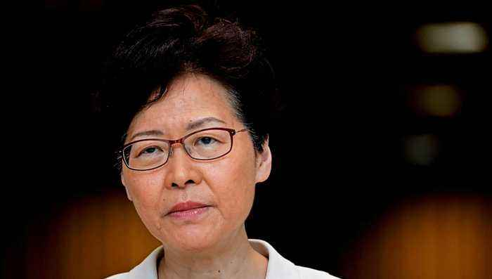 Hong Kong's Carrie Lam denies trying to resign
