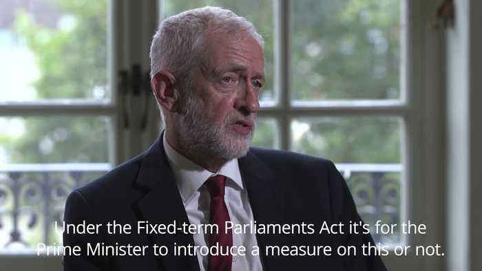 Jeremy Corbyn: No deal prevention is the priority over a general election