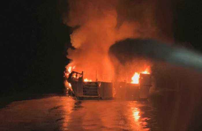 'I can't breathe' - Mayday call from boat fire reveals chaos