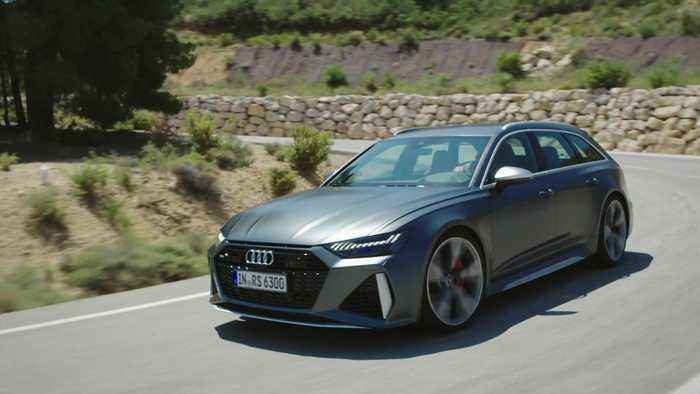 The new Audi RS 6 Driving Video
