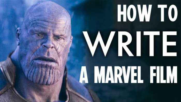 Everything it Takes to Write a Marvel Blockbuster