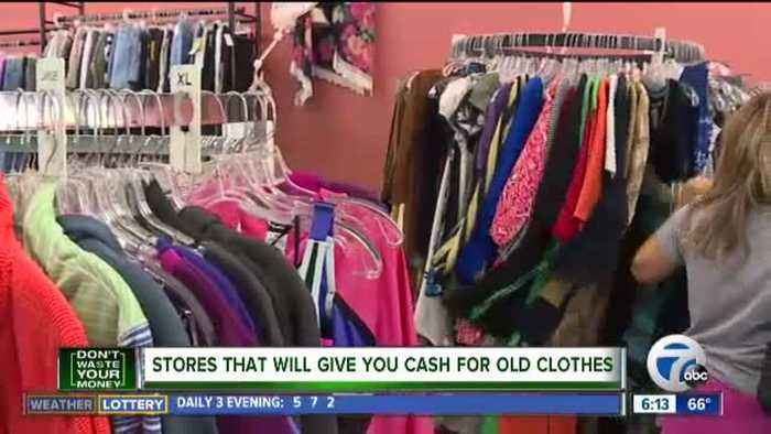Don't Waste Your Money: Stores that will give you cash for old clothes