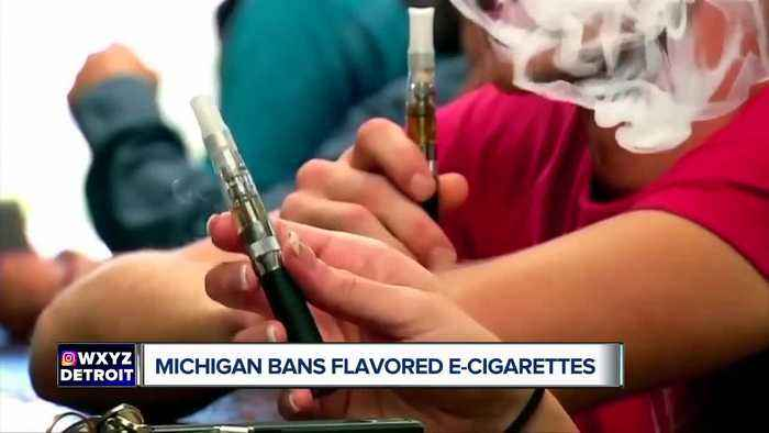 What you need to know about Michigan's ban on flavored e-cigarettes