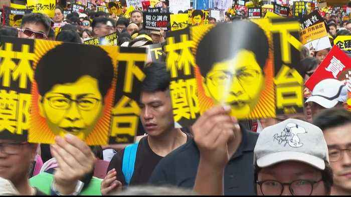 End of extradition bill fails to appease Hong Kong protesters