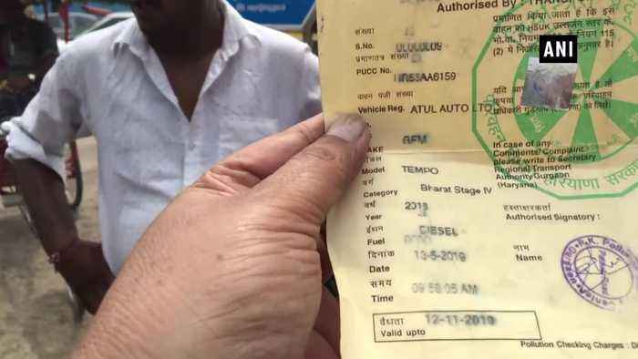 Auto driver gets fine of Rs37,000 in Gurugram for traffic violations