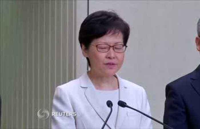 Lam hopes withdrawal will solve HK crisis