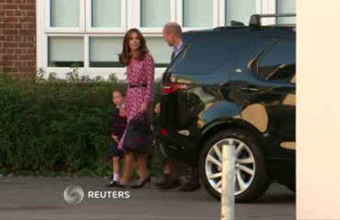 UK's Princess Charlotte's first day of school