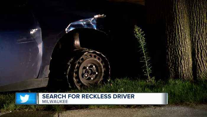 Milwaukee Police search for reckless driving suspect