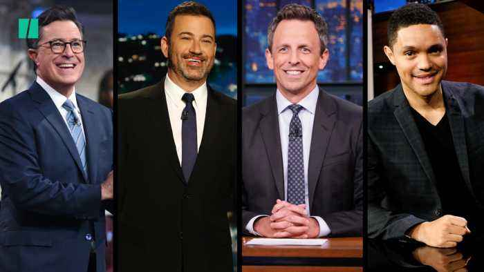 Late Night Hosts Take On Trump's Hurricane Map Alteration