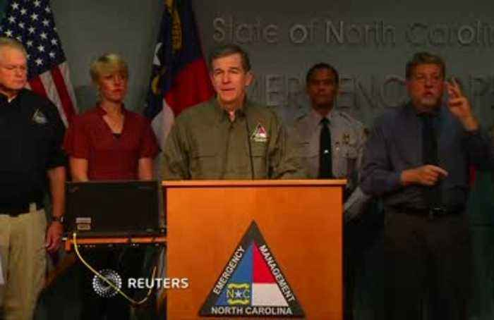 NC governor warns, 'Don't risk your life.'