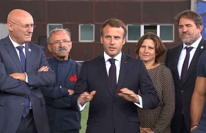 'In sports, nothing is set in stone', Macron tells France's rugby team